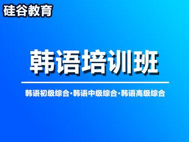 济南硅谷韩语课程