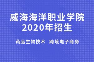 威海海洋职业学院2020年招生