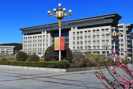 济南大学出国留学教学楼