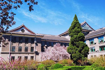 山东师范大学成人高考校园景色